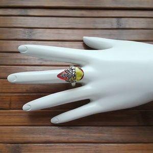 VSA designs Antigua Crystal ring